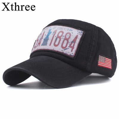 Xthree 2019 New Cotton Baseball Cap Men's Snapback Hats Spring Summer Hat for Men Women Caps hats Hot Selling In The Middle East