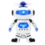 Electric Universal Dancing Intelligent Robot Toy Light Music 360 Degree Rotating Space Robot Children Kids Toy Birthday Gift