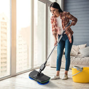 Rechargeable All-round Rotation Cordless Floor Cleaner Scrubber Polisher Electric Rotary Mop Microfiber Cleaning Mop for Home
