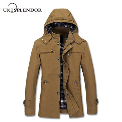 2019 New Fashion Men Jacket Winter Male Warm Coat Casual Solid Wadded Jackets Plus Size Cotton Jacket Hipster Tops Male YN10086