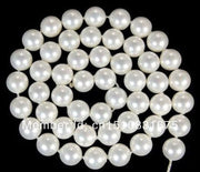 "10mm White AAA South Ocean Shell Pearls Loose Beads For Necklace Bracelet Hand Made Women Fashion Jewelry Making Design 15""xu79"