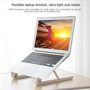 Laptop Stand Holder Mount Adjustable Angle Portable Folding Laptop Office Ergonomic Stand for 11-15.6Inch Notebook High Quality