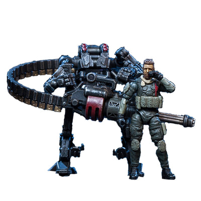 DIY Large Mecha Model Alpha Squad Crazy Attack Teams Fine Soldier Model with High Degree of Reduction