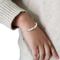 Beautiful Real freshwater pearl bracelet,adjustable casual one direction btacelet girlfriend gift