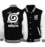 Naruto Uzumaki Baseball  Jacket Men Coat 2019 Autumn Winter Japan Anime S.A.O Jackets Men Cartoon  Male Jacket Anime Fans