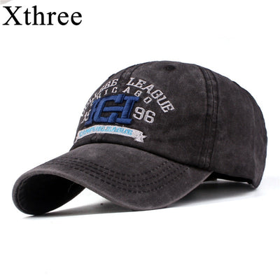 Xthree New men's cap baseball hat for women man snapback hat bone gorras para hombre beisbol embroidery casual cap casquette