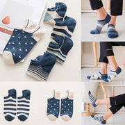 New Arrival Novel Style Mens Socks Casual Work Business Cotton Stripe Series Fashion Sock Comfortable