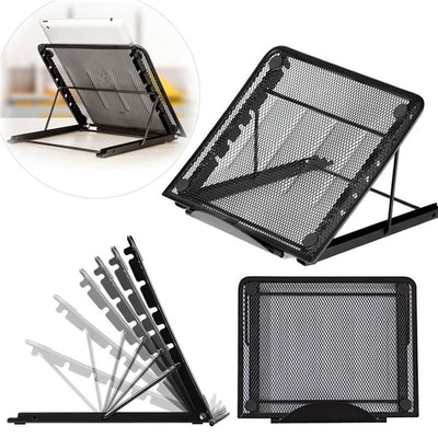 Multi-functio Adjustable Desktop Computer Bracket Radiator Cooling Cooler Mesh Ventilated Laptop Stand Holder for Table Laptop