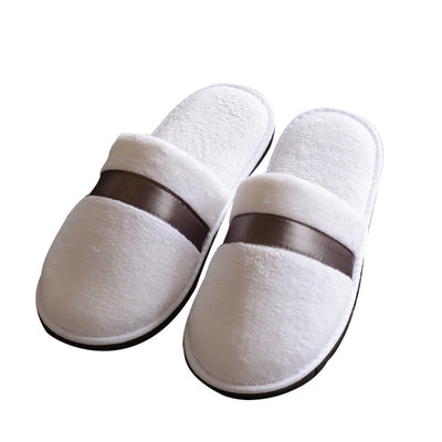 5 Colors Optional Soft and Comfortable Coral Velvet Thicken Anti skid Slippers