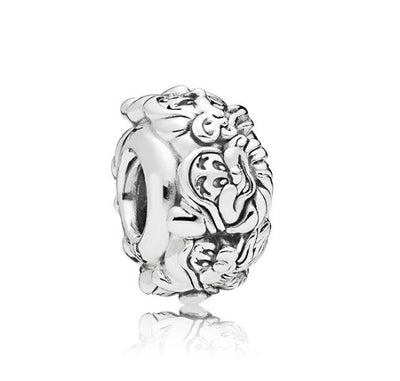 Btuamb Punk Silver Color Carved Seven Dwarfs Charm Beads Fit Pandora European Bracelets Bangles for Women Fashion Jewelry DIY