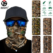 3D Realtree Seamless Bandana Neck Gaiter Face Shield Mask Tube Ring Scarves Military Army Airsoft Half Face Mask Scarf Men Women