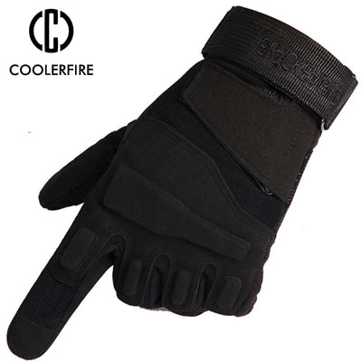 Winter Warm Men's Gloves Outdoor Sport Male Gloves Mittens for Men Tactical Gloves Anti-Skid Bicycle Full Finger Glove ST035