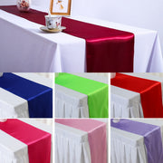 23 Colors 30cmx250cm Satin Table Runners For Wedding Party Decoration Modern Table Runner New Year Decoration For Home