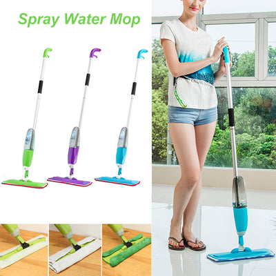 Automatic Flat Mops for Wooden Floor Ceramic Tile Spray Mop with Spray Gun Steam Floor cleaner For Home Cleaning Tool Household