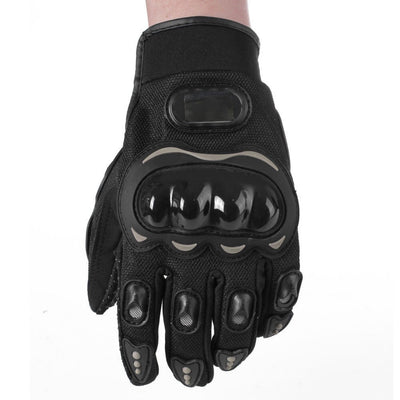 Comfortable Arrival Three Colors Racing Sports Pair Full Finger Gloves Cycling Motorcycle Outdoors