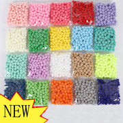 50pcs 15mm Colors Round Felt Balls Pom Poms for DIY Girls Room Party Supplies Wedding Decoration Felt Ball Accessories