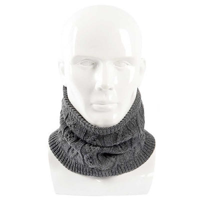 Unisex Men Women 2018 Winter Warm Knitted Neck Scarf Thickened Wool Fur Collar Scarves For Women