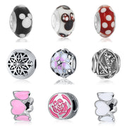 fit pandora bijoux beads for jewelry making bracciale bisuteria french bead silver perfumes mujer originales bracelet charms