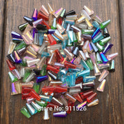 4*8MM Austrian Crystal Beads(70Pcs/Lot)Chinese Crystal Beads Wholesale Fashion Pagoda Beads For Fit Women Weeding Dress