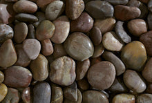 Laden Sie das Bild in den Galerie-Viewer, Polished Pebbles Rosso Kies