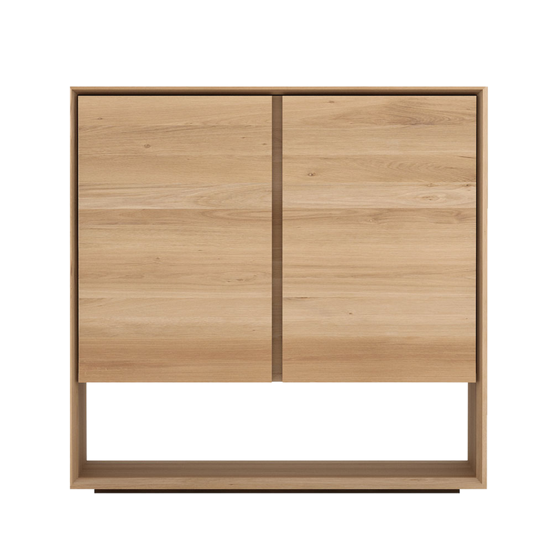Oak L1 Storage Cupboard