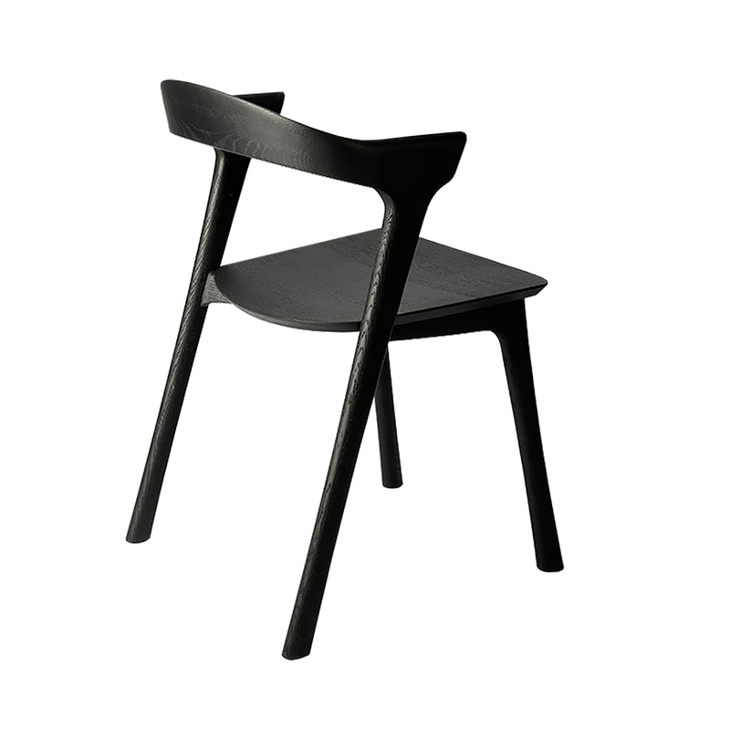 B1 chair with black finish, rear view