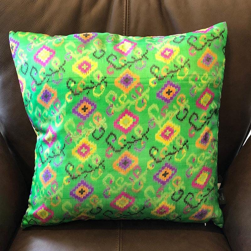 Yellow Flamingo Cushion