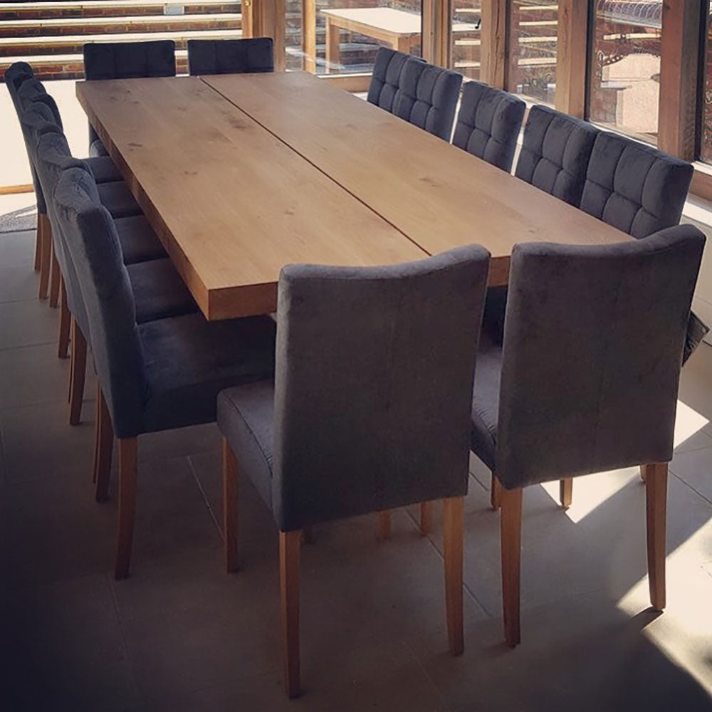 Sopwell Oak Double Dining Table