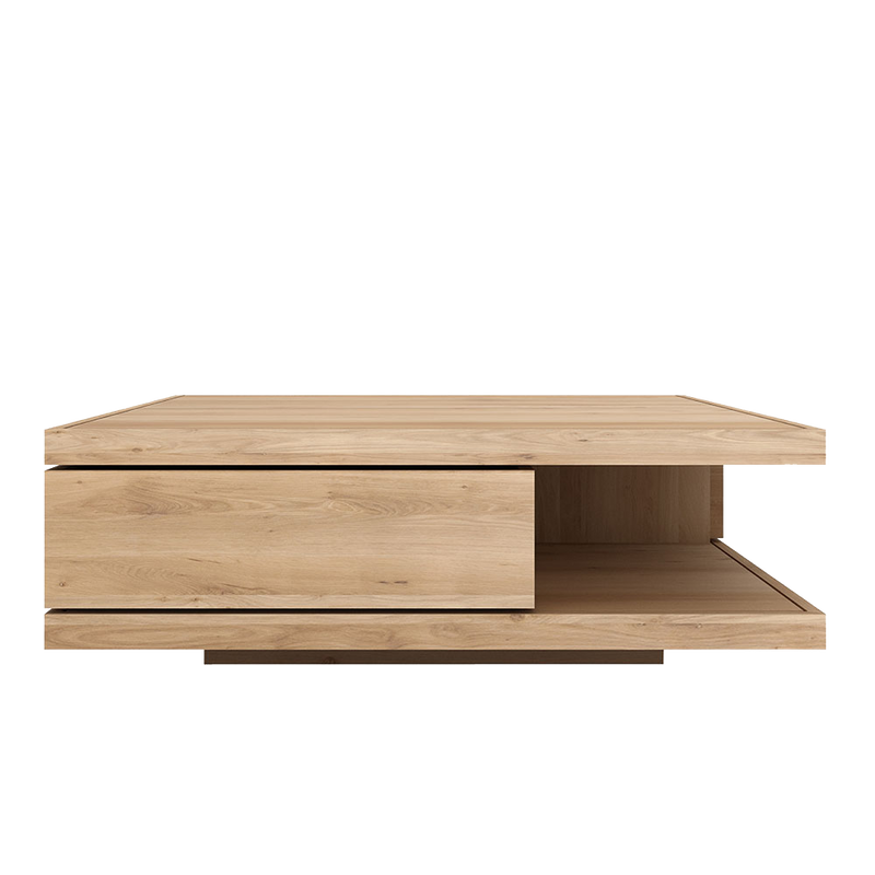 Flat Oak Coffee Table