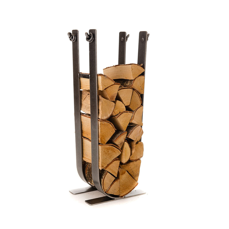 Forged Tall Log Holder