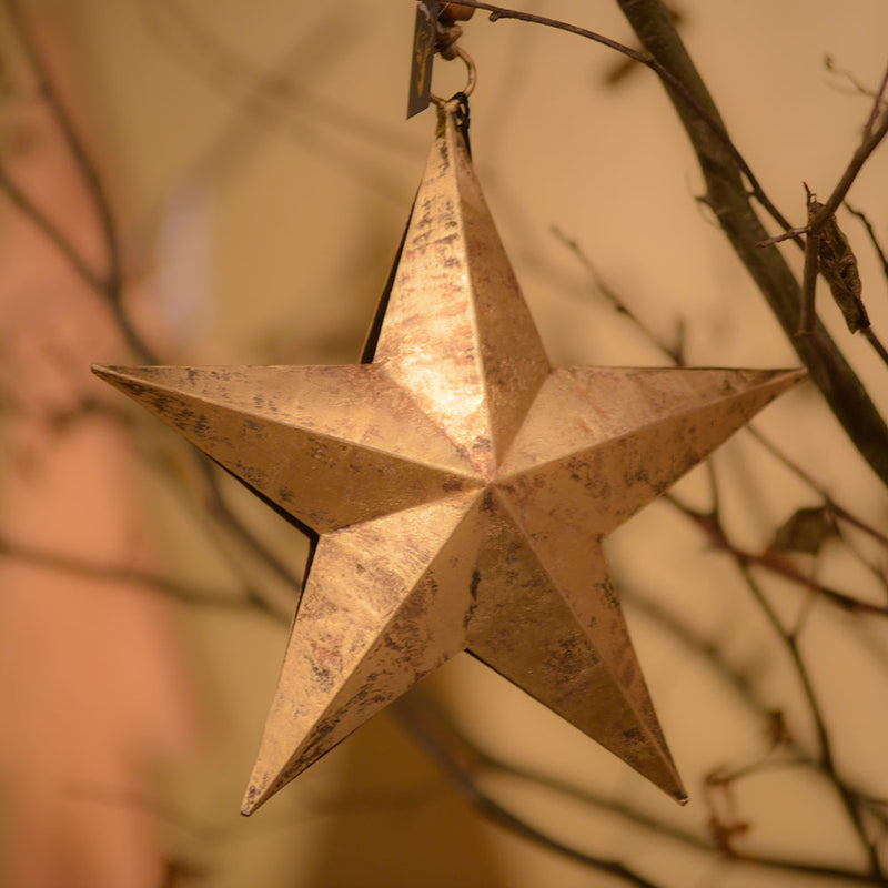 Gold Hanging Star