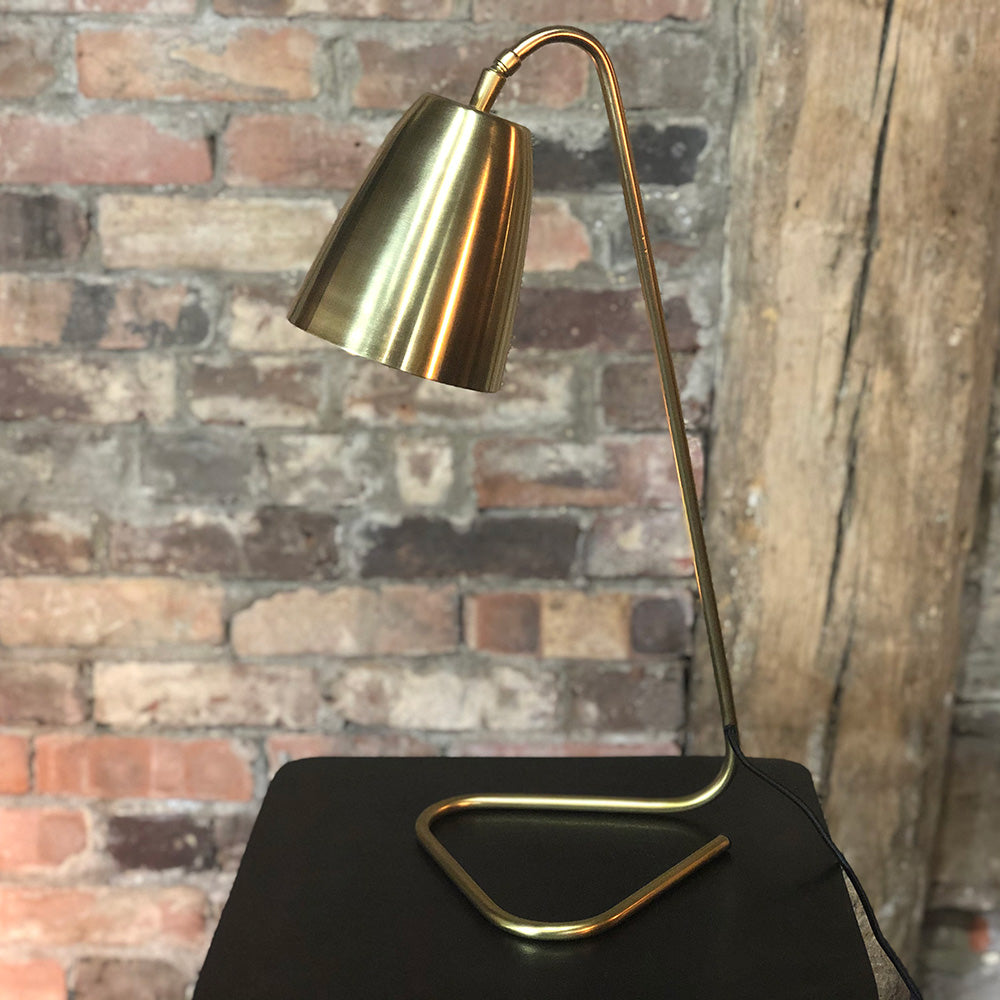 Golden Triangle Lamp
