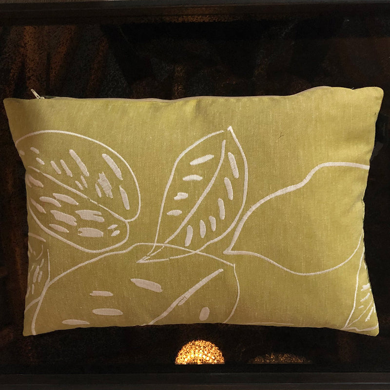 Vintage Green Forest Cushion