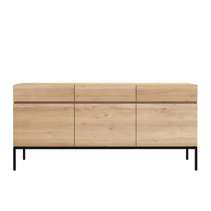 Sopwell Oak Slice Sideboard