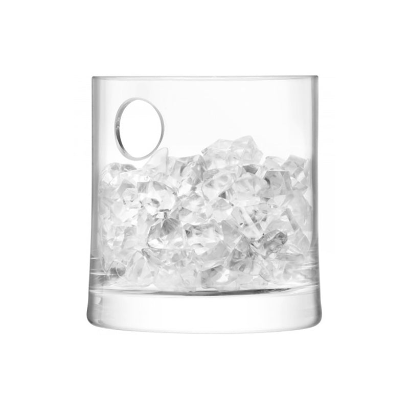 ice bucket shown with ice.