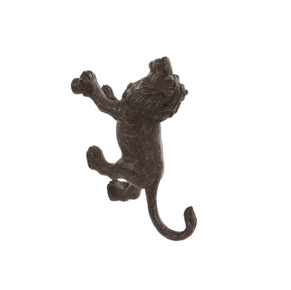 Climbing Lion Wall Hook