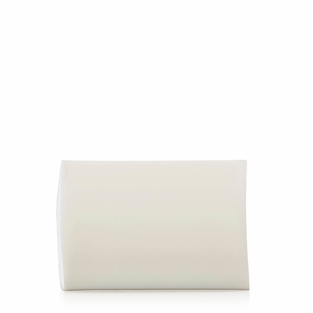 white soap washbar.rectangular.