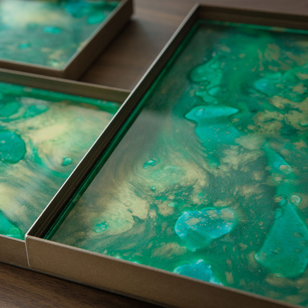Valet Tray - Malachite