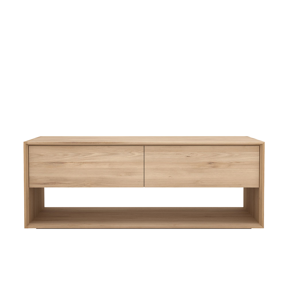 Nordik Oak TV Cupboard
