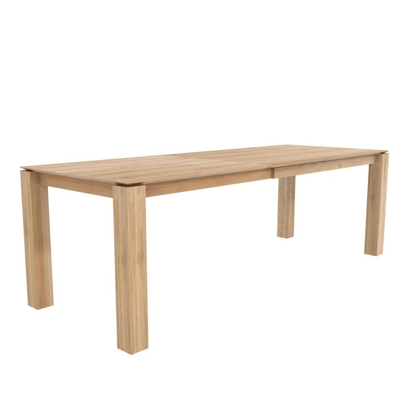 Planar Extending Oak Dining Table