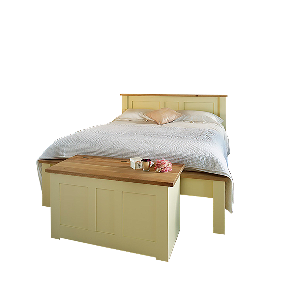 Provence Painted Panel Bed