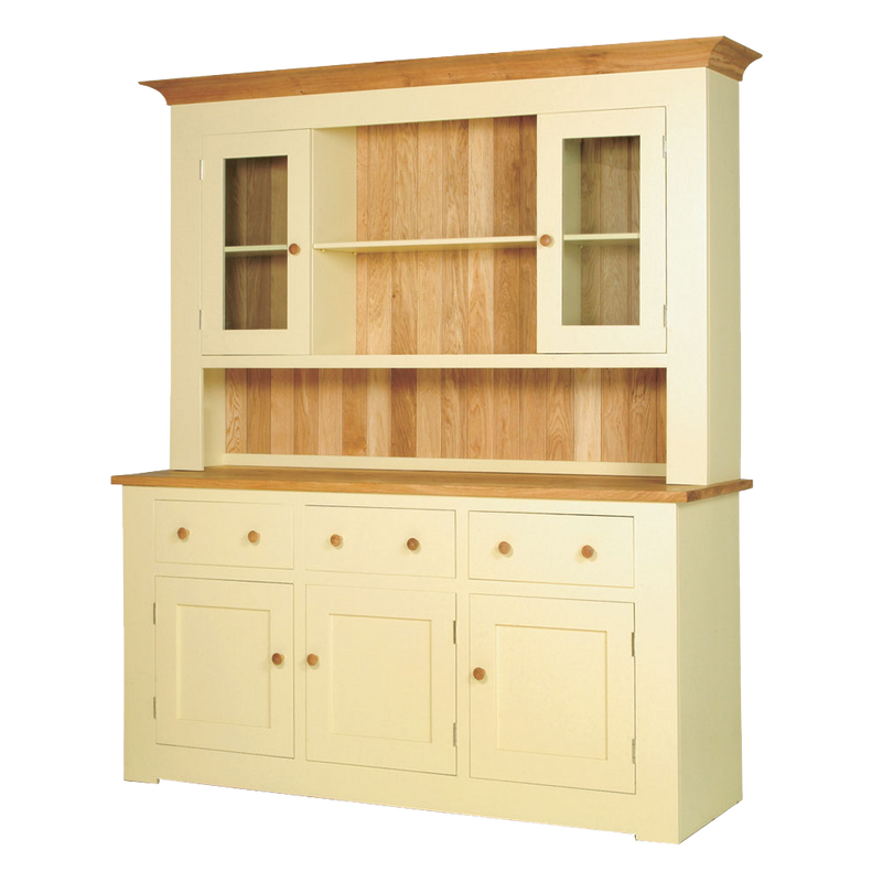 Provence Painted 3 Bay Dresser with Glazed Top