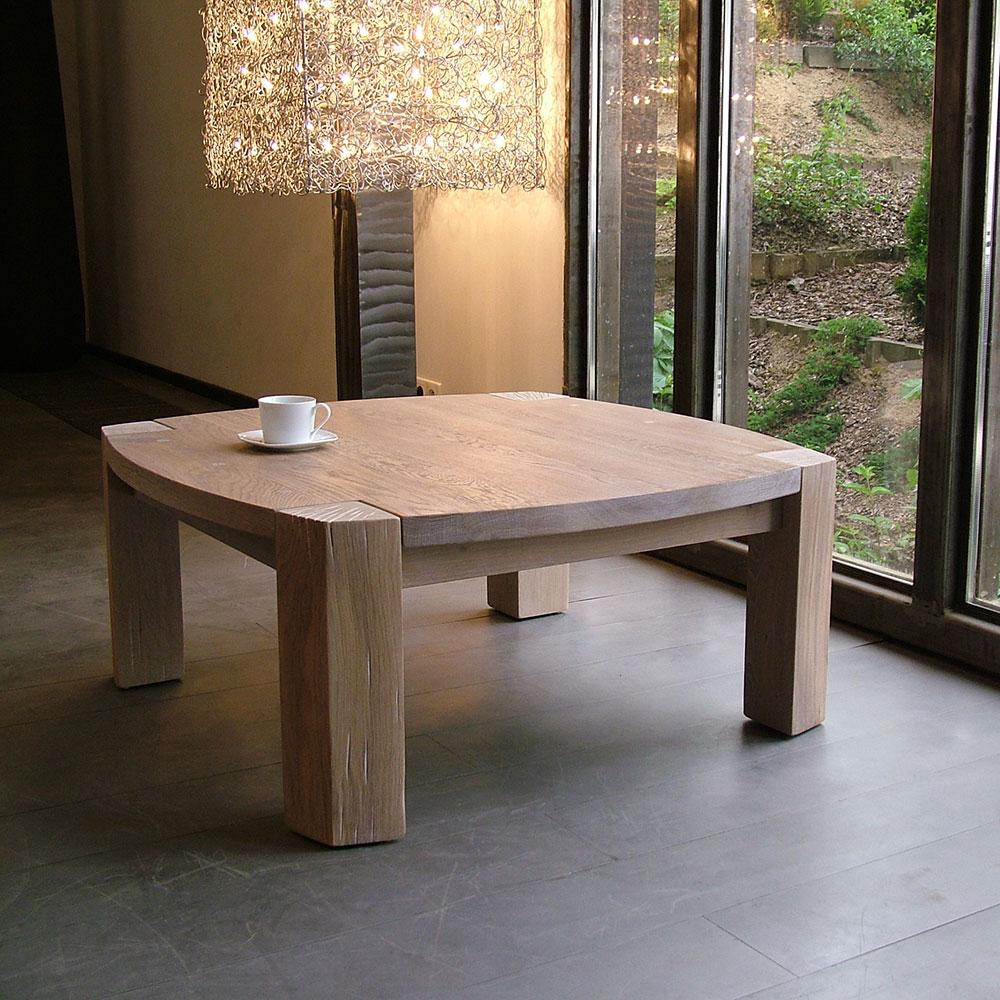 Radius Oak Coffee Table