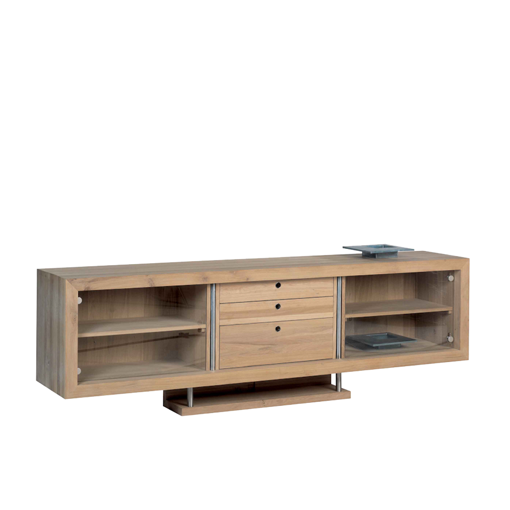 Sopwell Oak Reflex Media Cabinet