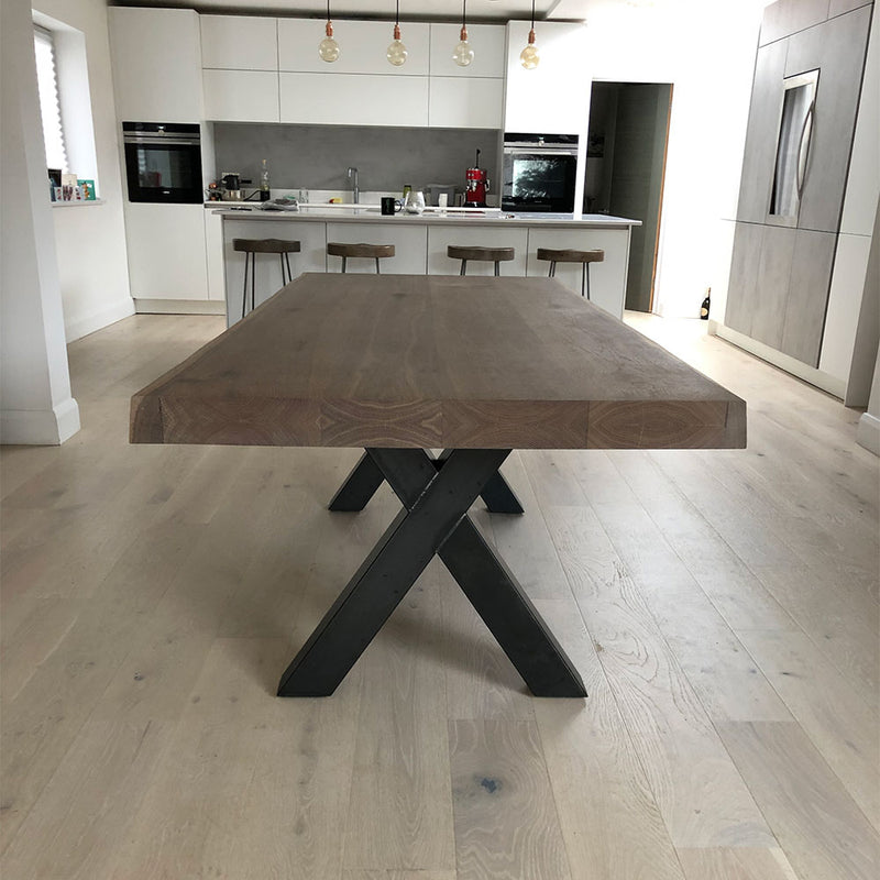 Sopwell Oak River Dining Table Blacks Of Sopwell Online Store