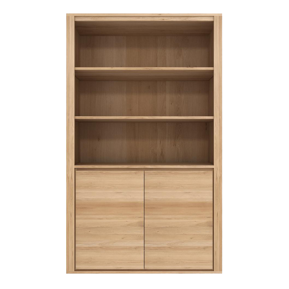 SDW Oak Bookcase