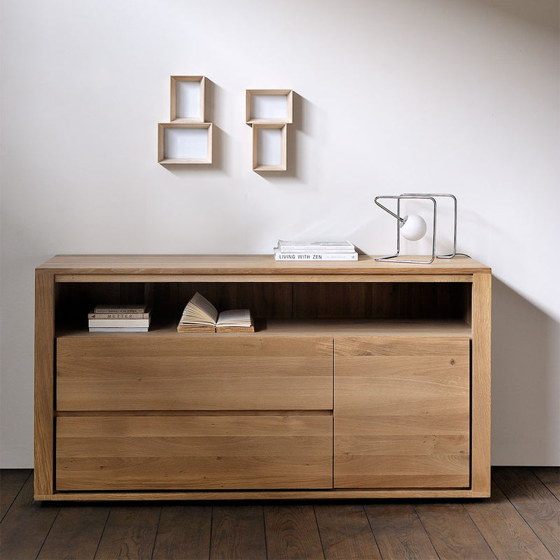 storage styled in the bedroom