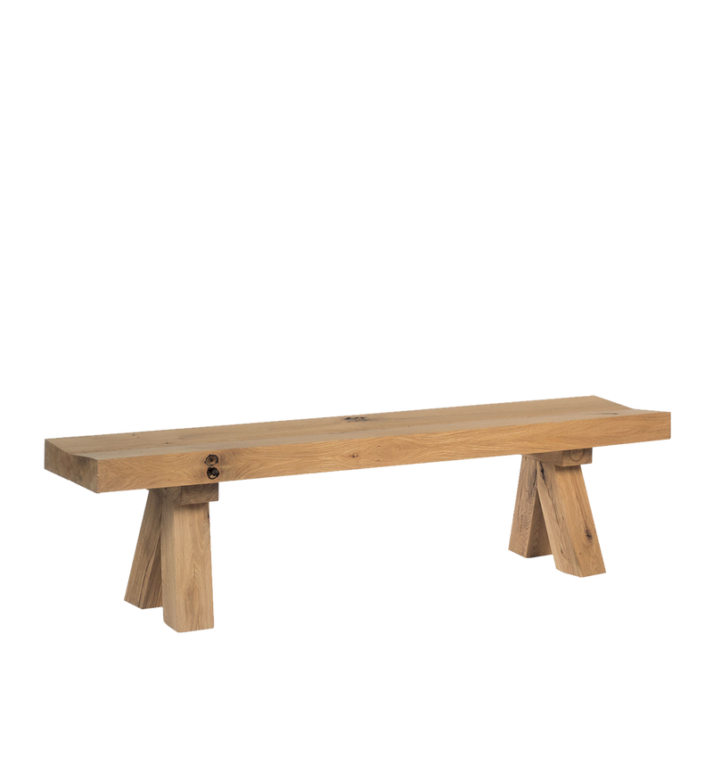 Sopwell Oak Barn Bench