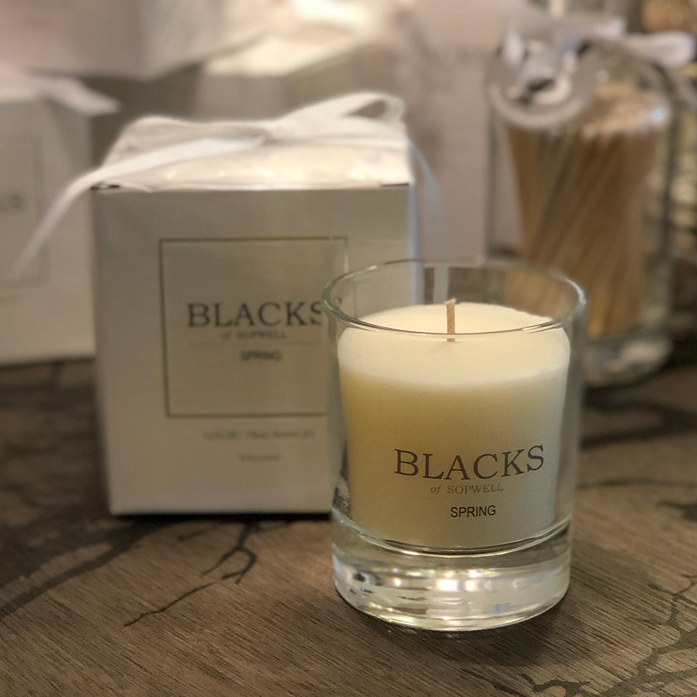 Blacks Spring Candle