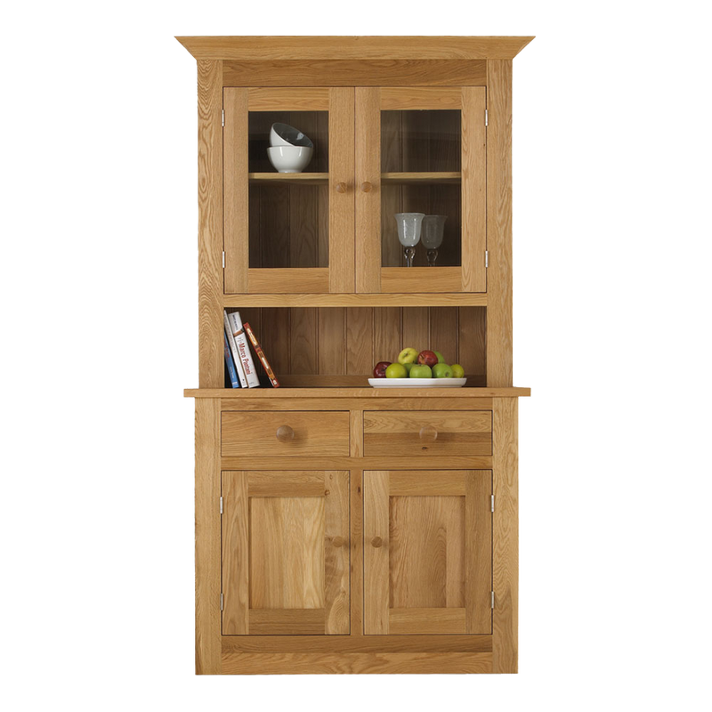 Studio Oak 2 Bay Dresser with Glazed Top